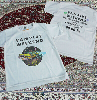 Limited VAMPIRE WEEKEND Sold Out 09 06 19 Madison Square Garden t-shirt S-3XL