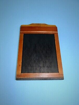 "3¼"" x 4¼"" Graphic Film Holder in good vintage condition."
