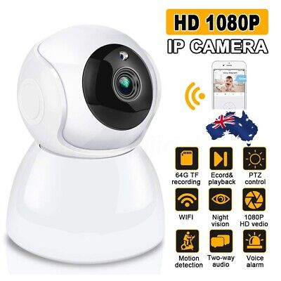 AUGIENB 1080P WIFI Wireless IP Camera Baby Home Monitor Network Security CCTV !!