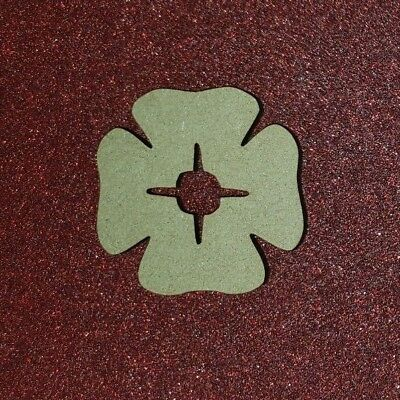Laser Cut MDF Poppy, pack of 1 or 3 size options Craft, Home Decor