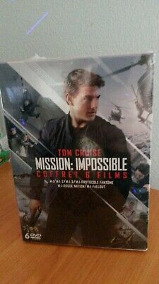 Mission Impossible - L'intégrale 6 films DVD NEUF Tom Cruise [ coffret ]