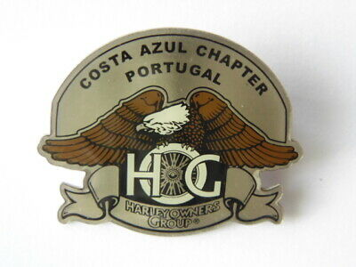 Harley-Davidson Pins Badge Collector  Hog Costa Azul Chapter Portugal