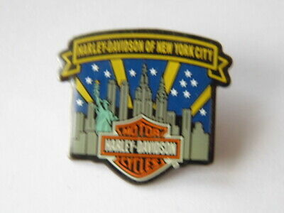 Harley-Davidson Pins Badge Collector Hd Of New-York City