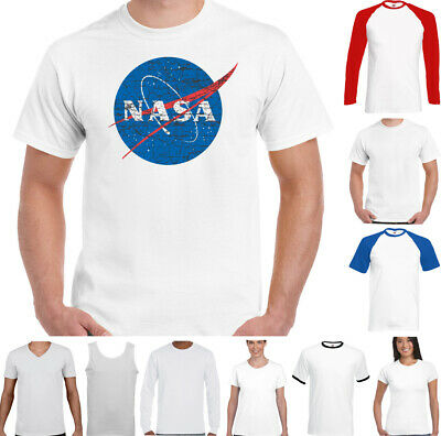 Nasa - Geek Ballot Big Bang Theory Logo Rétro T-Shirt Espace Sheldon Cooper