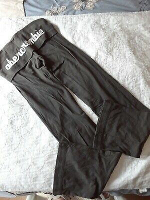 NWOT Abercrombie And Fitch Girls Joggers Yoga Pants MEDIUM M 10/12