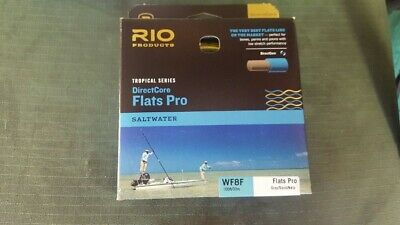 RIO DIRECT-CORE FLATS PRO WF8F gray/sand/kelp FLY LINE NEW