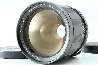 【RARE FAT! EXC+5 TESTED】 PENTAX Super Takumar 35mm f/2 M42 Screw Mount fromJAPAN