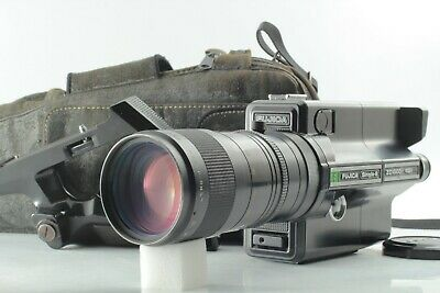 【Near MINT】 Fujifilm Fujica ZC1000 Single 8 Movie Camera Fujinon 7.5-75mm JAPAN