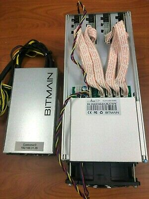 504MH//s Fully Working Antminer L3 Litecoin ASIC Scrypt Miner *with PSU*