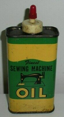 Finest Sewing Machine Oil,Tin Oiler Can (5 Inches Tall)