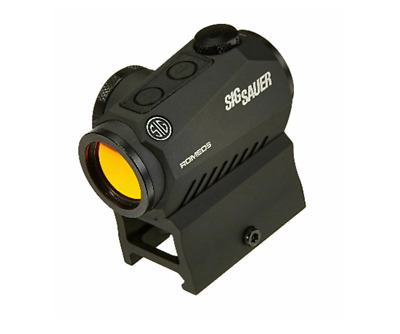 Sig Sauer SOR52001 Romeo 5 1x20mm 2 MOA Red Dot Sight with Mounts