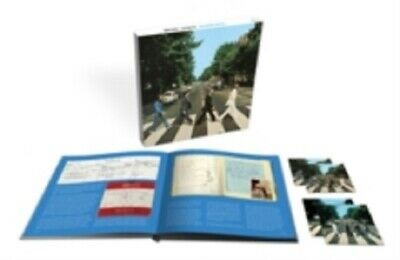 The Beatles Abbey Road 4 Disc New CD + Blu-ray Box Set 50th Anniversary