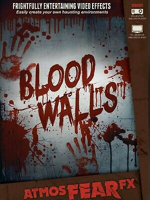 Blood Walls AtmosFx Projection Digital Download Halloween