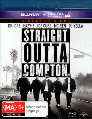 Straight Outta Compton - Director's Cut - Mint Blu-ray