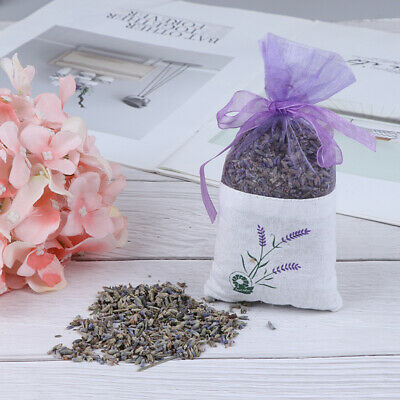 Natural Lavender Bud Dried Flower Sachet Bag Aromatherapy Aromatic Air Refre~GN