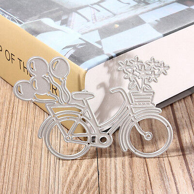 Bicycle Metal Cutting Dies Stencil Scrapbooking Paper Card Album Photo Craft~GN