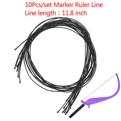 10Pcs Microblading Line Marker Ruler Line Eyebrow Messure Accessory Tattoo To~GN