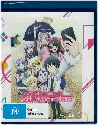 IN ANOTHER WORLD WITH MY SMARTPHONE Blu-ray + DVD 4 Disc Set - Region [B][4] NEW