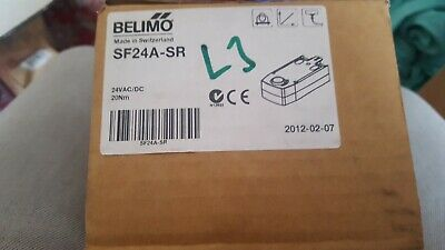BELIMO SF24A-SR Actuator NEW COMPLETE **1ST CLASS DELIVERY!!