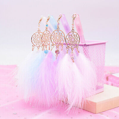 1Pc Gel Pen Kawaii Dreamcatcher Feather Pendant Neutral Pens for School G~GN