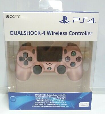 Controller Wireless Dualshock 4 Rose Gold Limited Original Sony Ps4