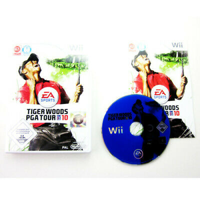 Nintendo Wii Game Tiger Woods Pga Tour 10 in Original Packaging with Guide