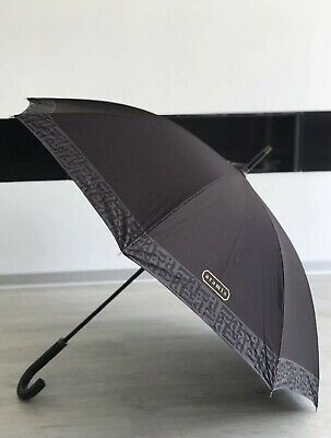 💙💜ARAMIS Classic Genuine Mens  Gold Edge Large Golf UMBRELLA New With Tags