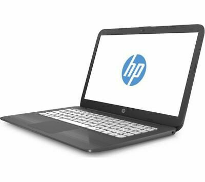 HP Stream 14-ax056sa 14in Grey Laptop - Intel N3060 4GB RAM 32GB eMMC - Windows