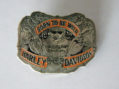 Harley Davidson Pins Badge Collector Hd Born To Be Wild 1992