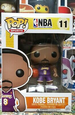 Funko Pop NBA Kobe Bryant #8 Rookie Jersey SDCC Exclusive Mint USA Seller