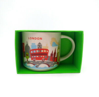 414ml Starbucks City YAH London Coffee Mug Cup You Are Here Collection Limited