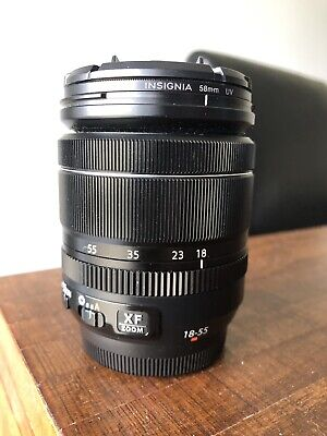 Fujifilm Fujinon XF 18-55mm f/2.8-4 OIS LM Lens With Clear Filter Free Shipping