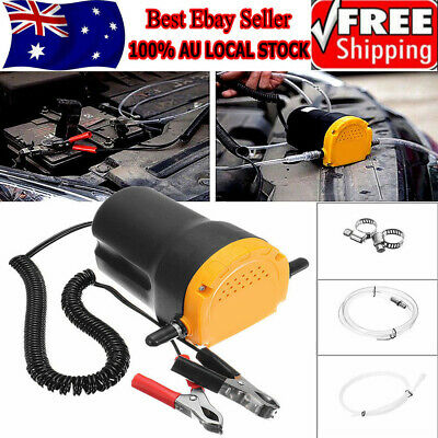 12V Oil Diesel Extractor Suction Pump Transfer Fluid Scavenge Change Car Boat