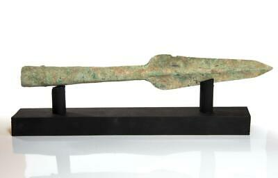 Luristan socketed bronze spearhead 1000 BC