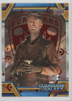 2017 Upper Deck Guardians of the Galaxy Volume 2 11/49 The Sovereign Return 0ad