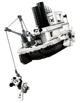 LEGO Steamboat Willie Movie Building Block christmas lego toy mickey