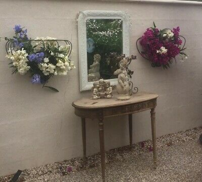 Vintage French Flower Baskets Lovely Shape And Detail