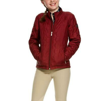 Ariat Girls Volt Jacket - Cabernet CLOSEOUT