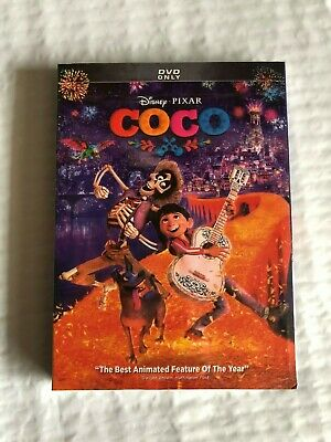 Coco (DVD, 2018) New & Sealed USA Free Shipping!