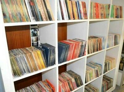 "Job lot 50 x 7"" inch Vinyl Records - All Genres, Working, Crafts, Carboot"