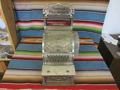 Early 1900'S Antique National Cash Register Model 50 1/4 From Albuquerque, N.m.
