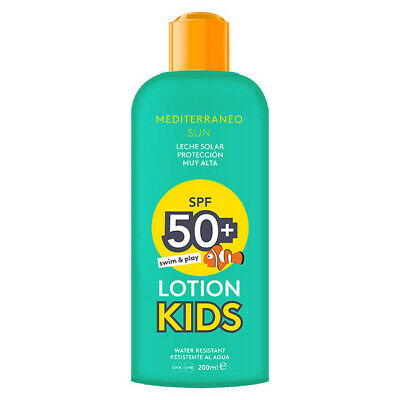 S0545951 176752 Lait solaire Kids Swim & Play Mediterraneo Sun SPF 50 (200 ml)