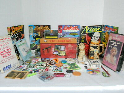 Junk Drawer & Closet Clean Out Lot #7 New, Old, Vintage, Antique, Collectibles