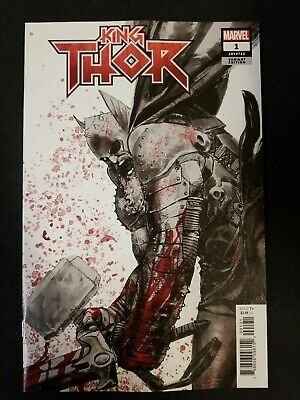 King Thor #1 2019 MARVEL Comics 1:25 Gerard Zaffino Variant Cover