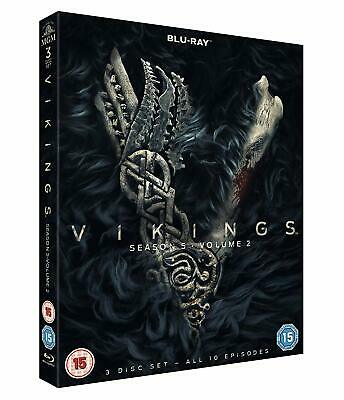 Vikings Season 5 Volume 2 [3x Blu-ray] *NEU* ENGLISCH Series Staffel 10 Episoden