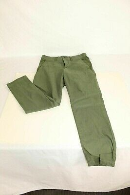 Girls Green Skinny Pants Size 12 by Art Class Straight Leg Cotton with Spandex