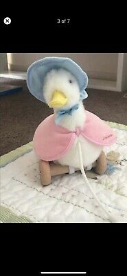 BEATRIX POTTERJemima Puddle Duck Pull Along Toy