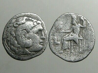 ALEXANDER III THE GREAT OF MACEDONIA______SILVER DRACHM_____Undefeated in Battle