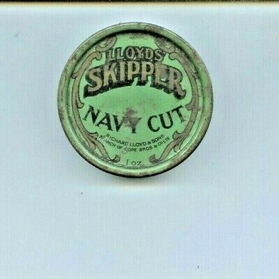 Lloyds Skipper Navy Cut Tobacco Tin 1oz