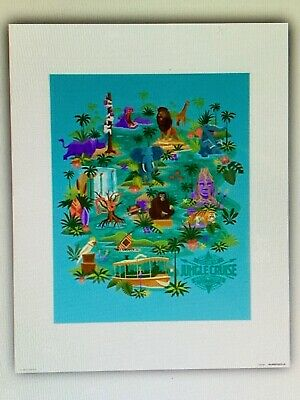 Disney Parks Jungle Cruise  #2  Attraction Poster Art Print 16 x 20 More Sizes